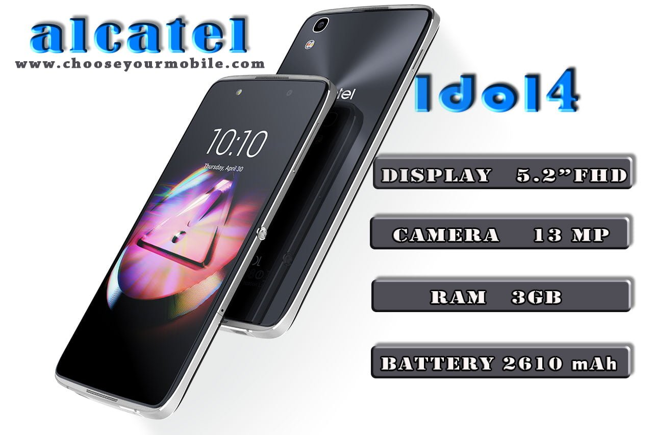 Alcatel idol 4, idol4, alcatel