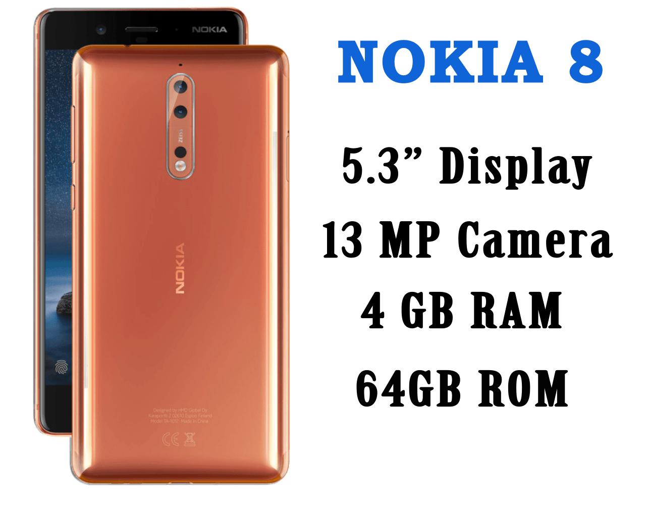 nokia 8 , nokia 8 images, nokia 8 specifications