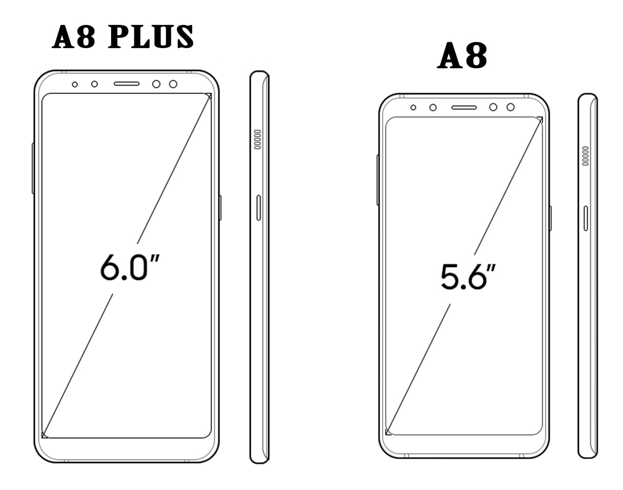 samsung a8 2018 and a8 plus 2018