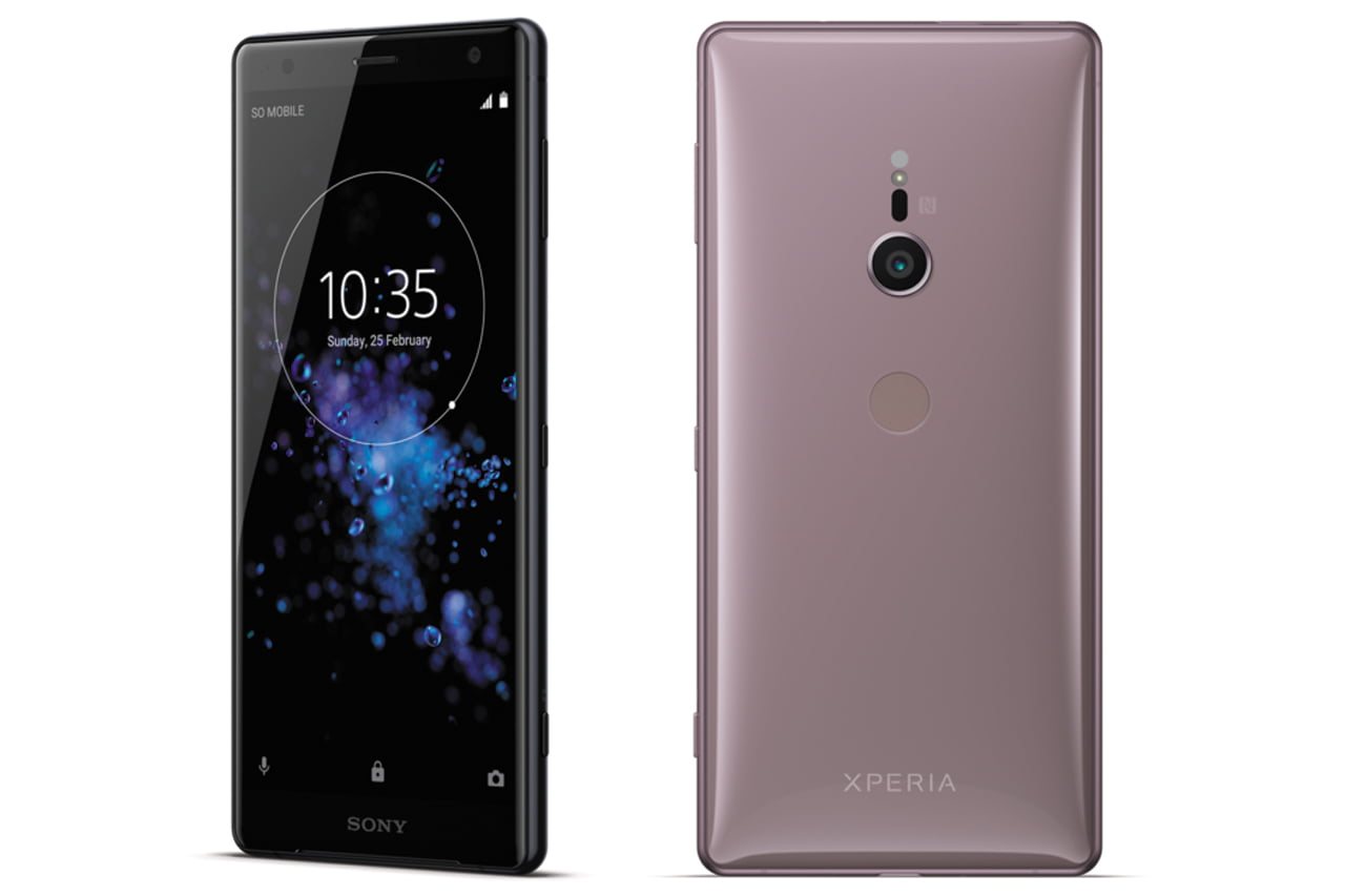 Sony Xperia XZ2 Specifications and images