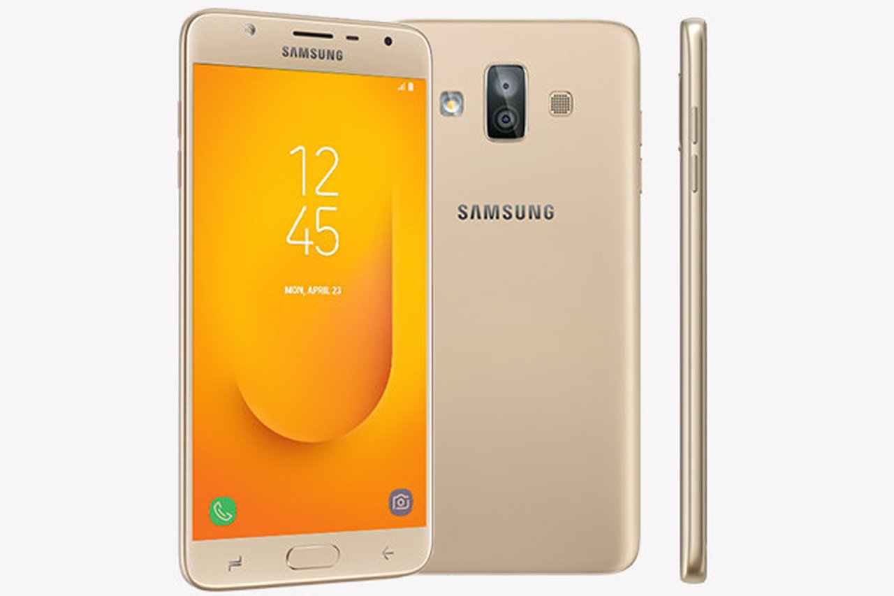 samsung galaxy j7 duo-gold