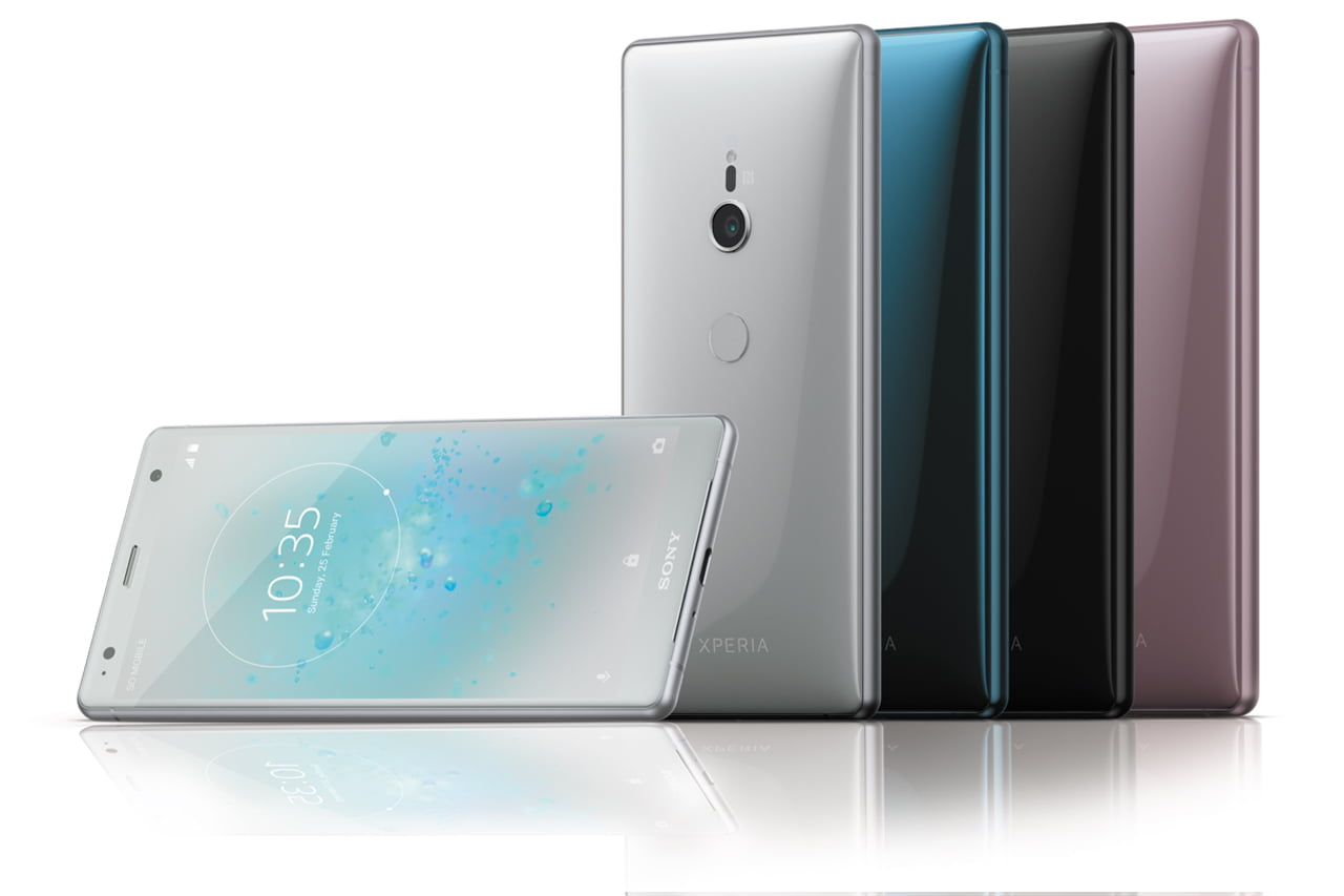 Sony Xperia XZ2 Specificattons and images