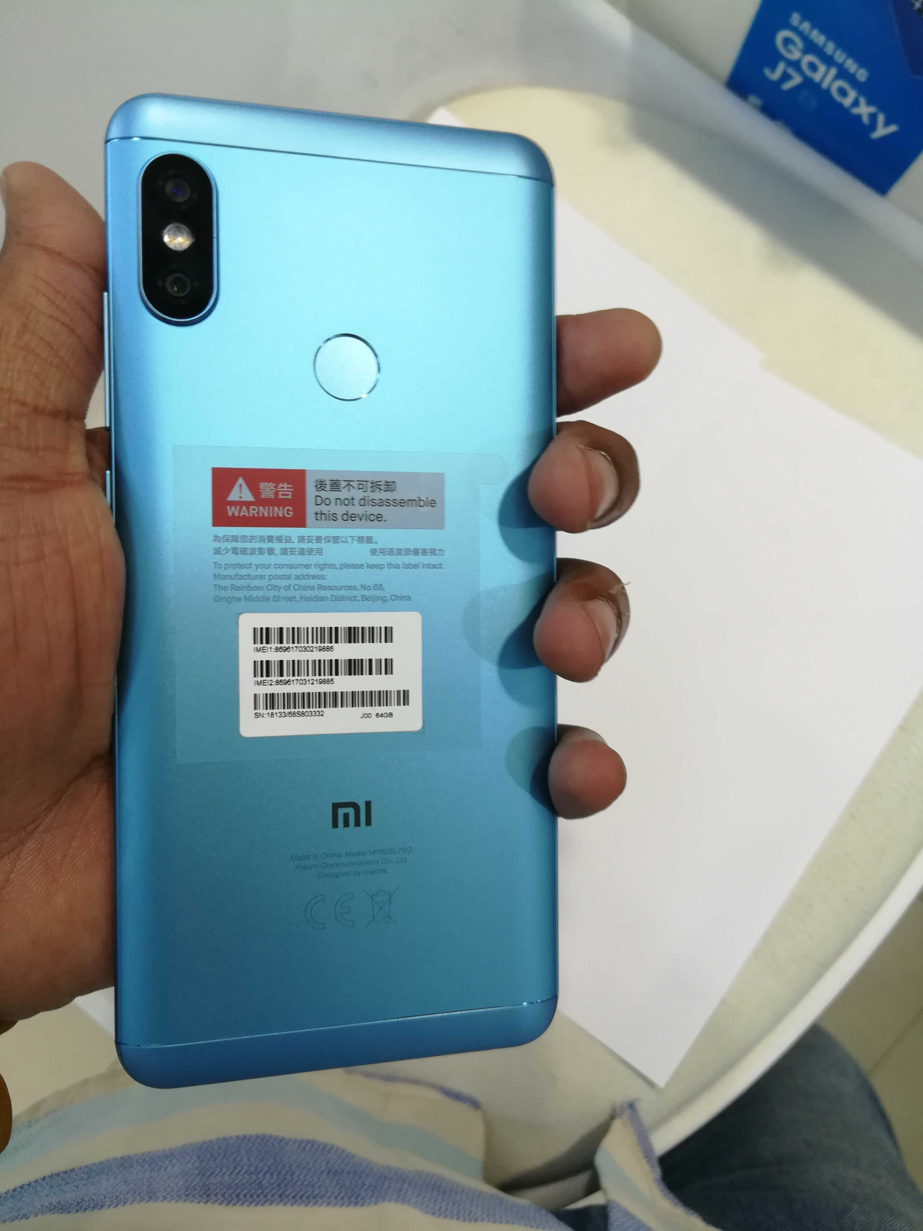 MI Redmi Note 5 AI Dual Camera (M1803E7SG ) Specifications and images