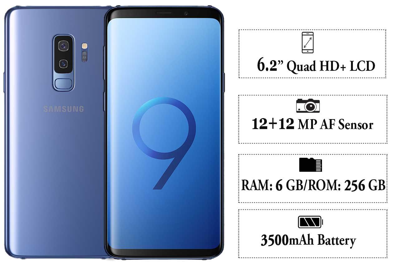Samsung Galaxy S9 Plus (SM-G965) blue