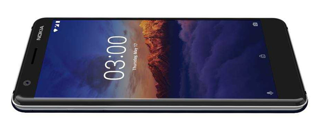 Nokia 3.1 android smartphone