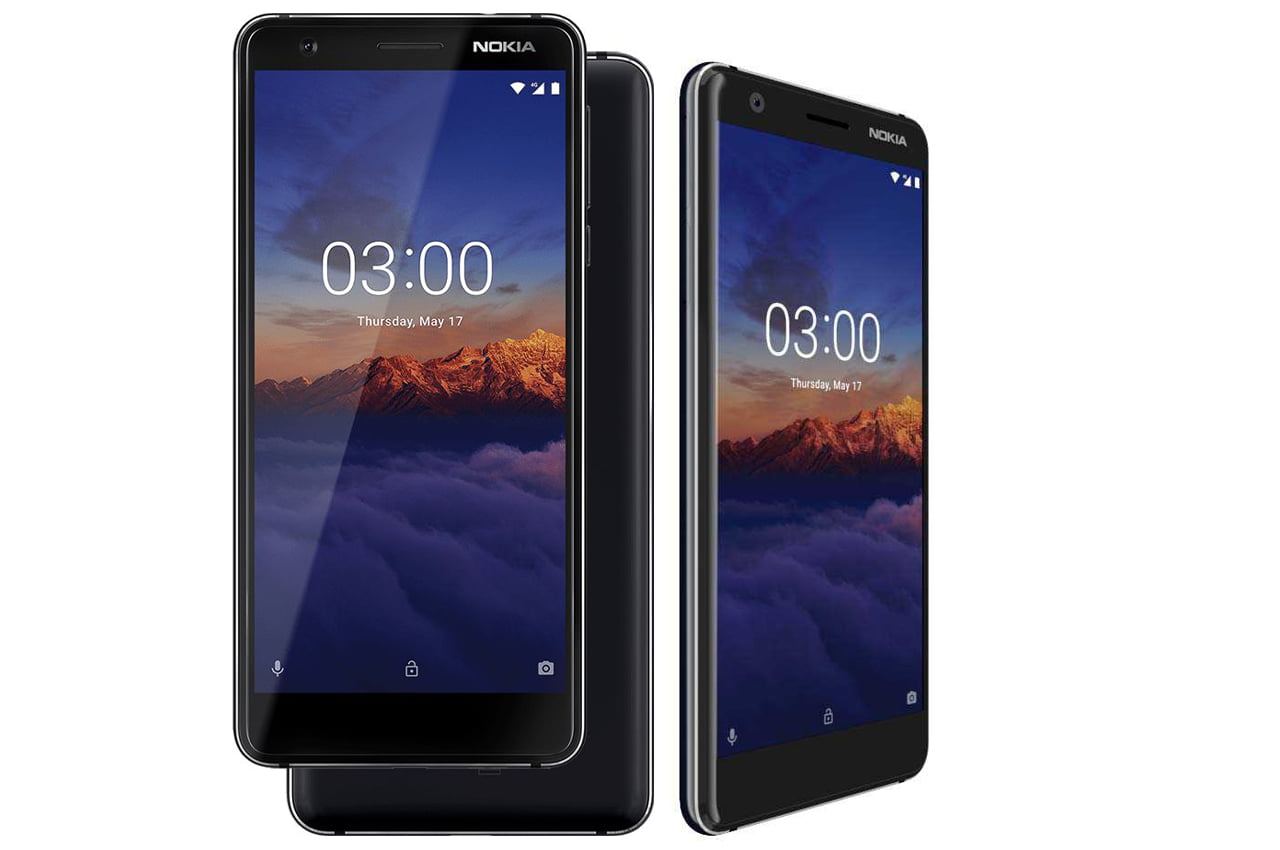 Nokia 3.1 android smartphone specification and images