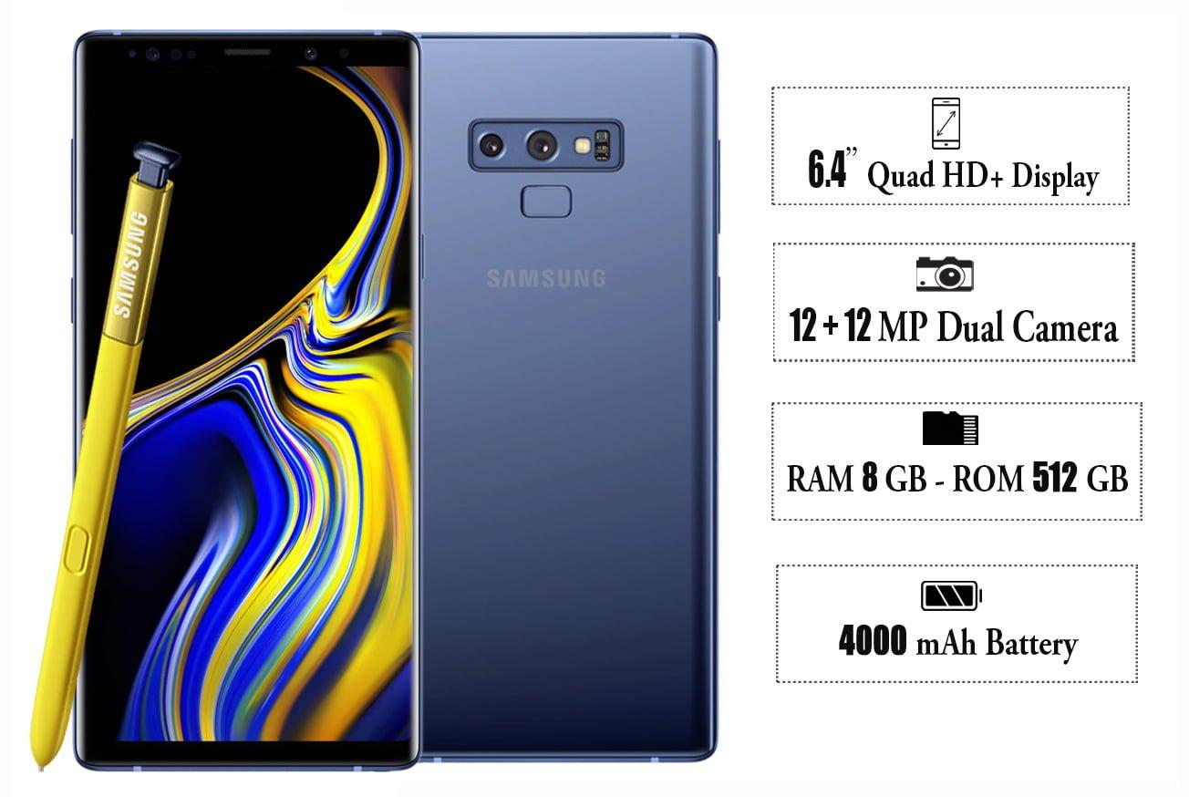 Samsung galaxy note 9 , note 9 oman