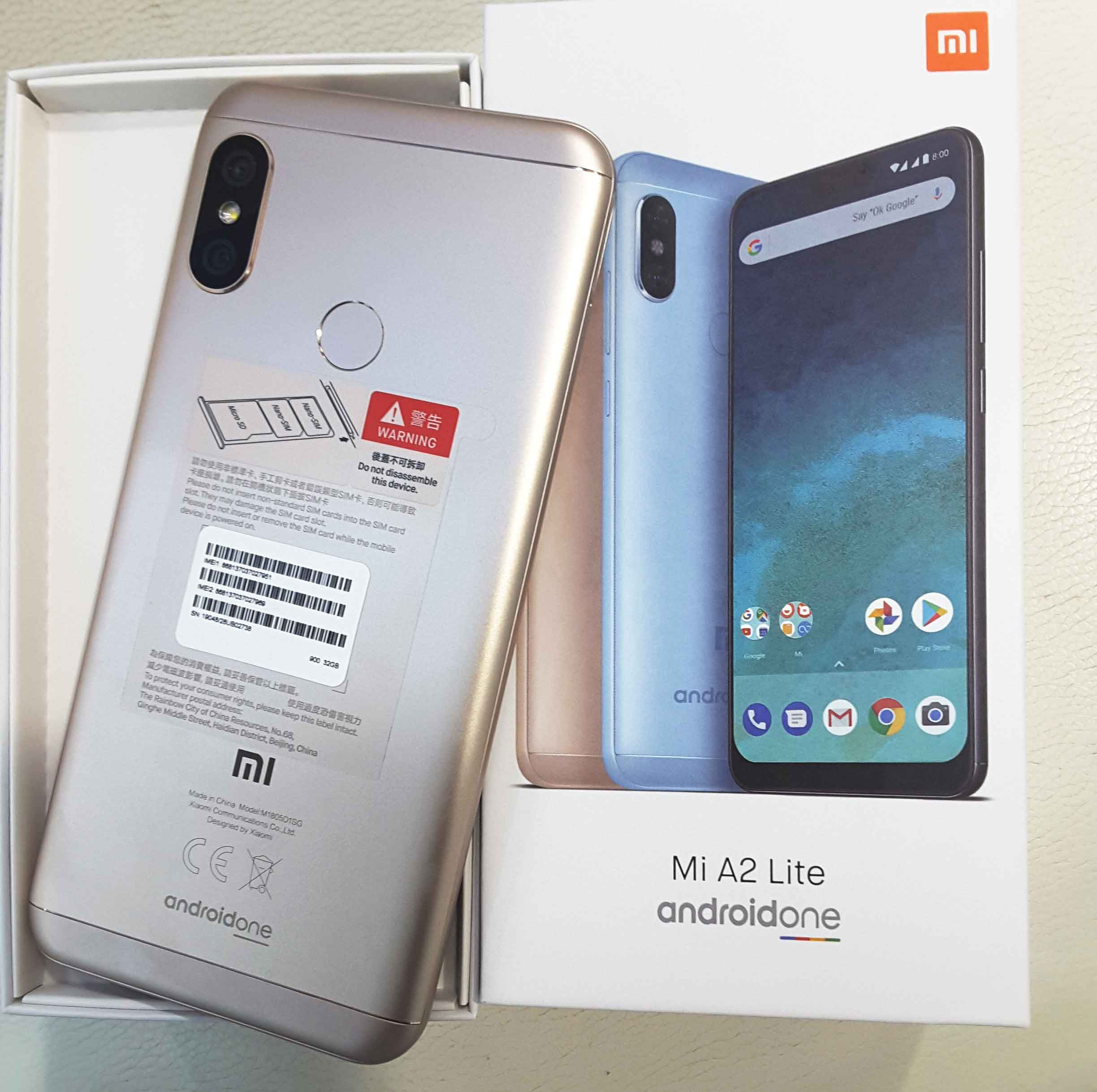 Mi A2 Lite (M1805D1SG) Specifications ,images and price.