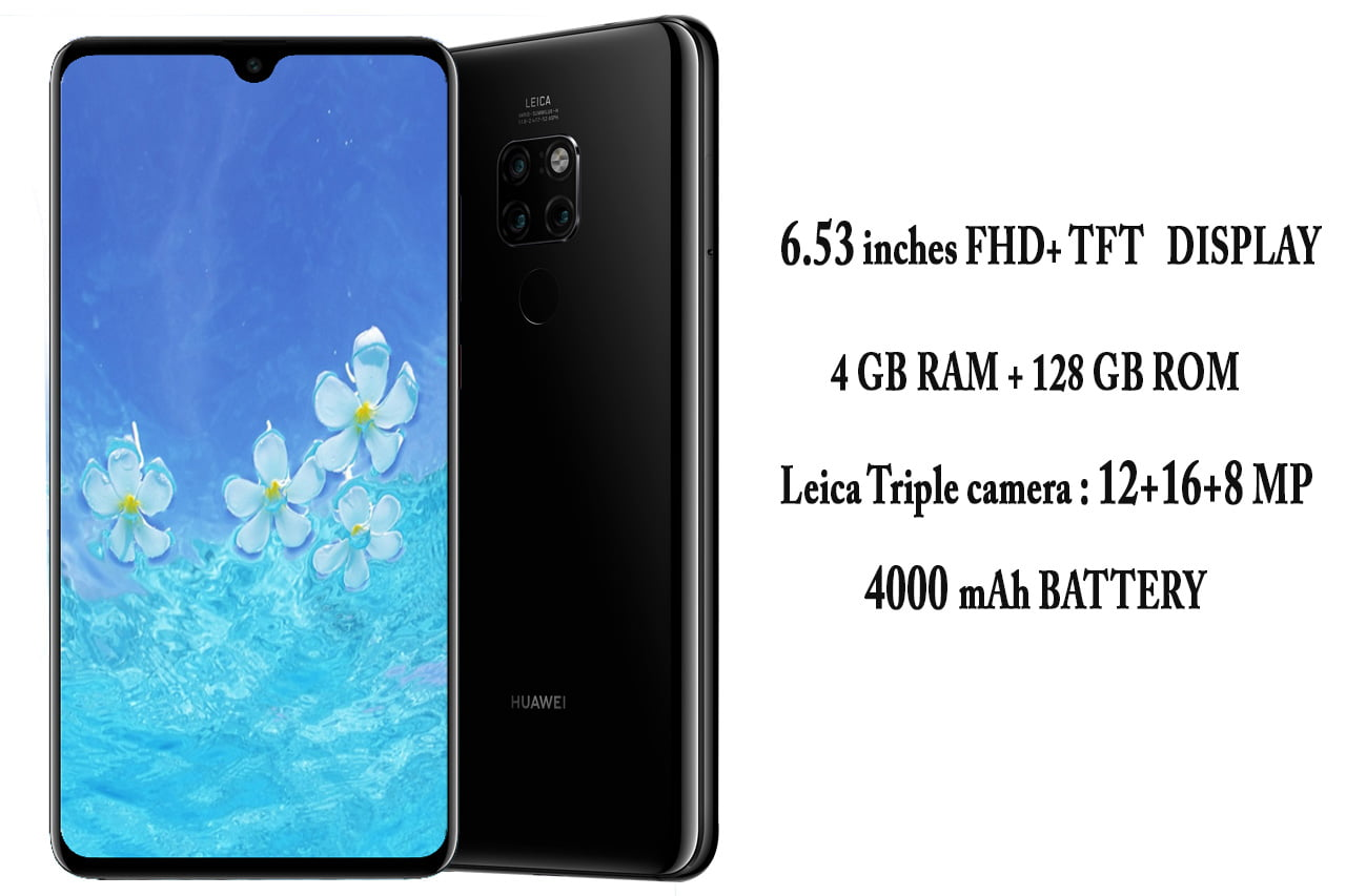 Huawei Mate 20 (HMA-L29) specifications , images and price