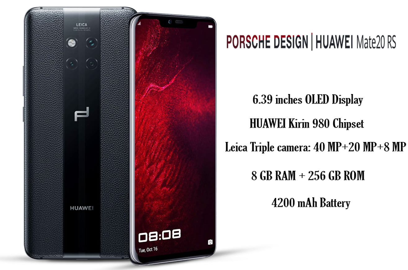 Huawei Mate 20 RS Porsche Design_specifications