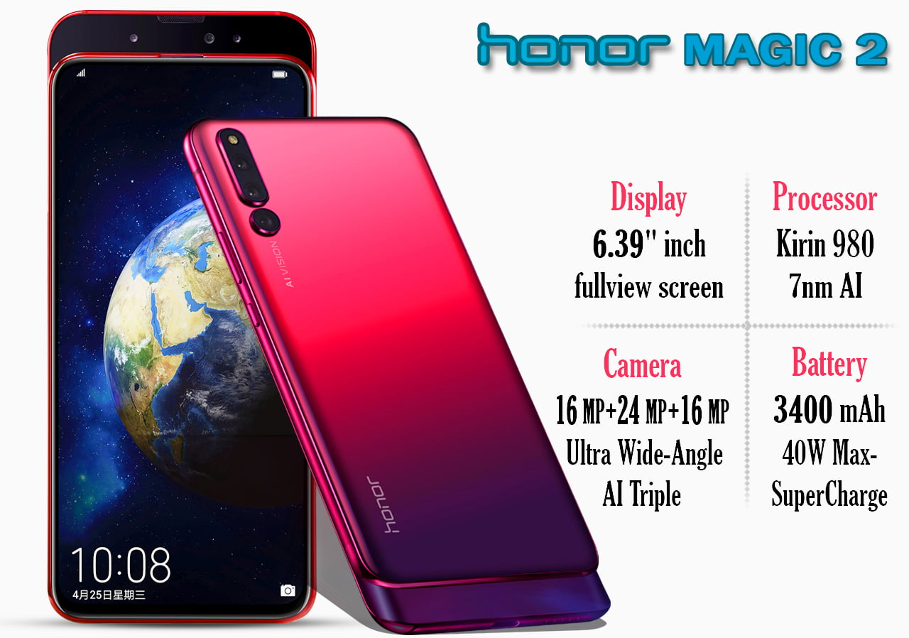 Honor Magic 2 specifications , images and price