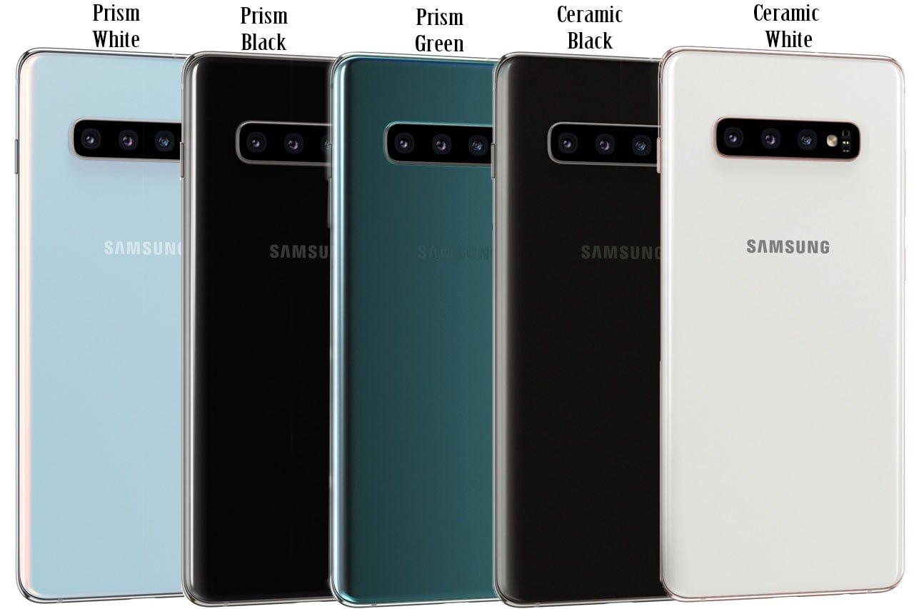 Samsung Galaxy S10 Plus_ ALL colour