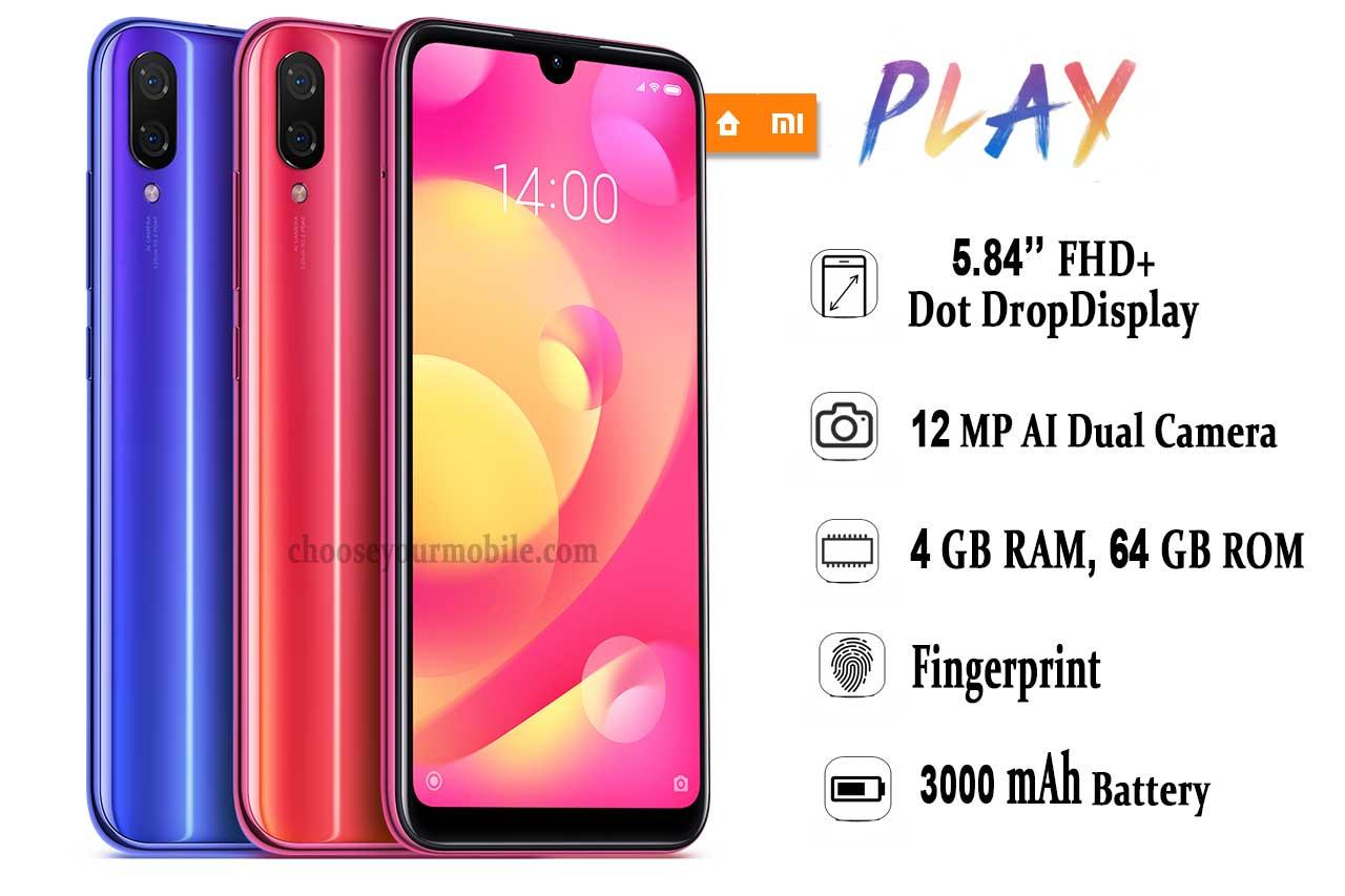 Xiaomi Mi Play(M1901F9E)