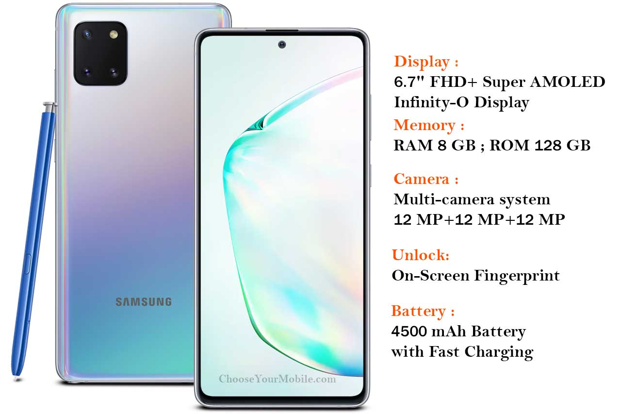 Samsung Galaxy Note10 Lite (SM-N770F) -aura glow