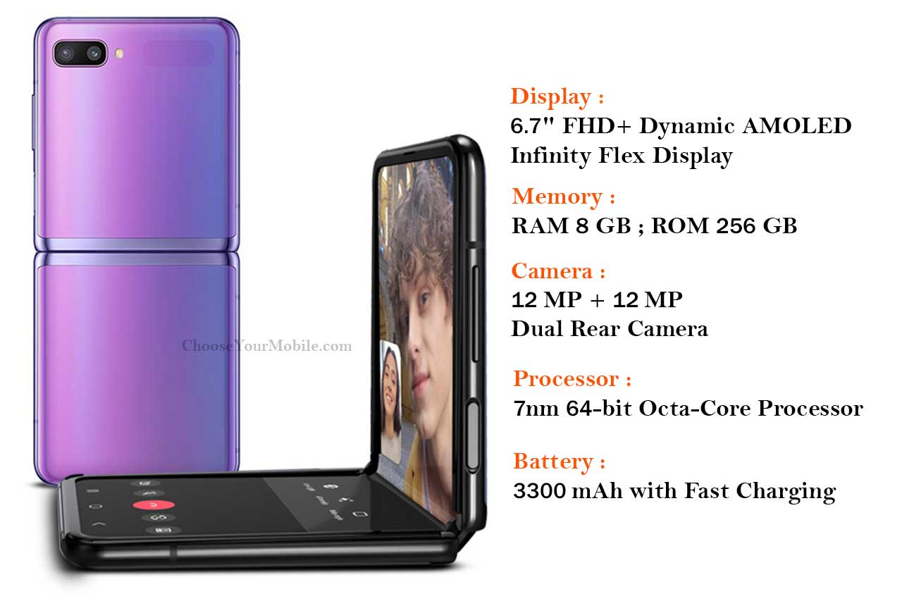 Samsung Galaxy Z Flip Specifications