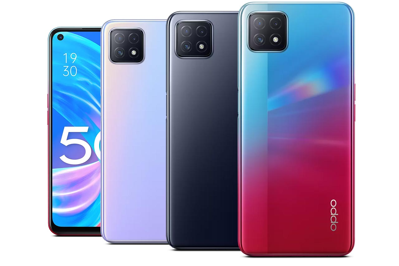 Oppo A72 5G Images