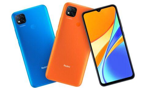 Mi Redmi 9C Orange and Blue