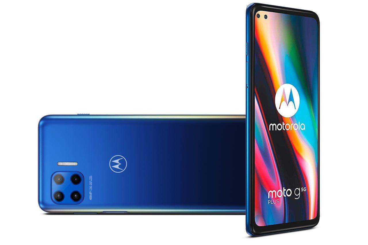 Motorola Moto G 5G Plus Blue Image