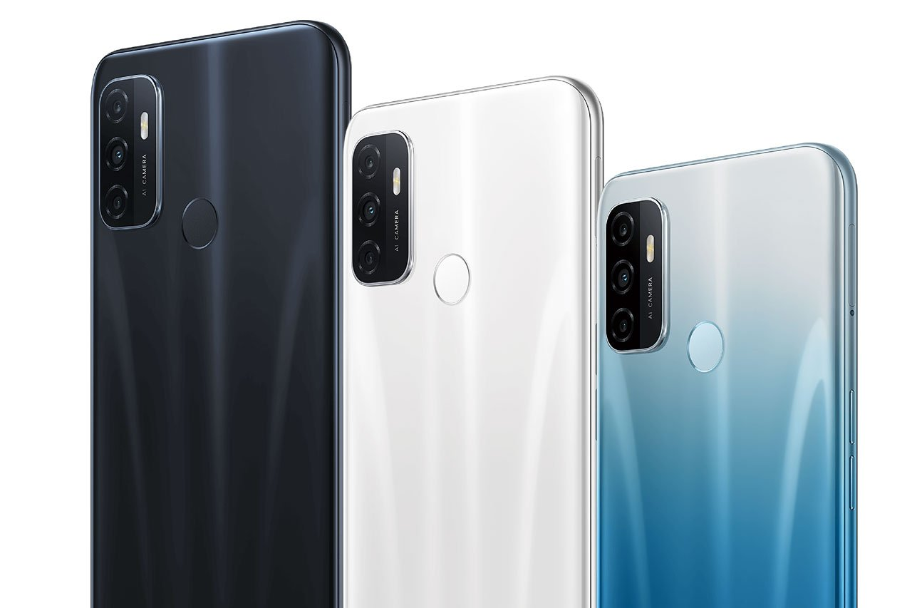 Oppo A53 Colors