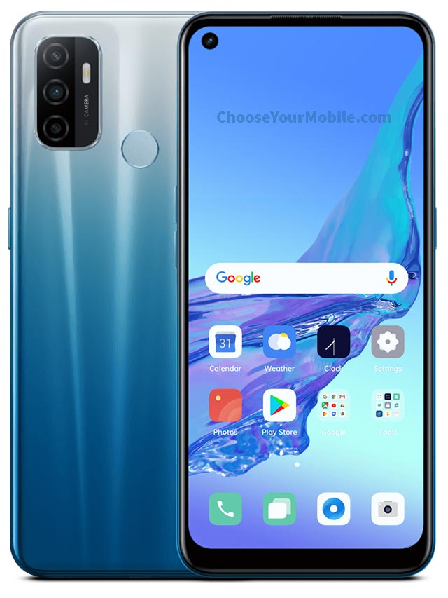 Oppo A53 Blue