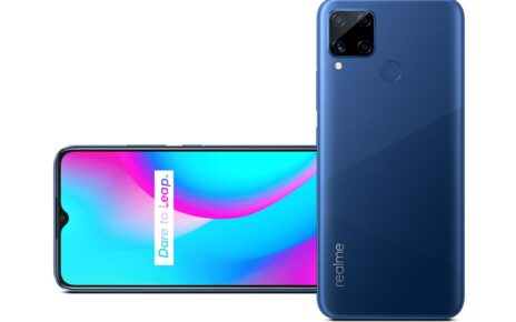 Realme C15 Blue