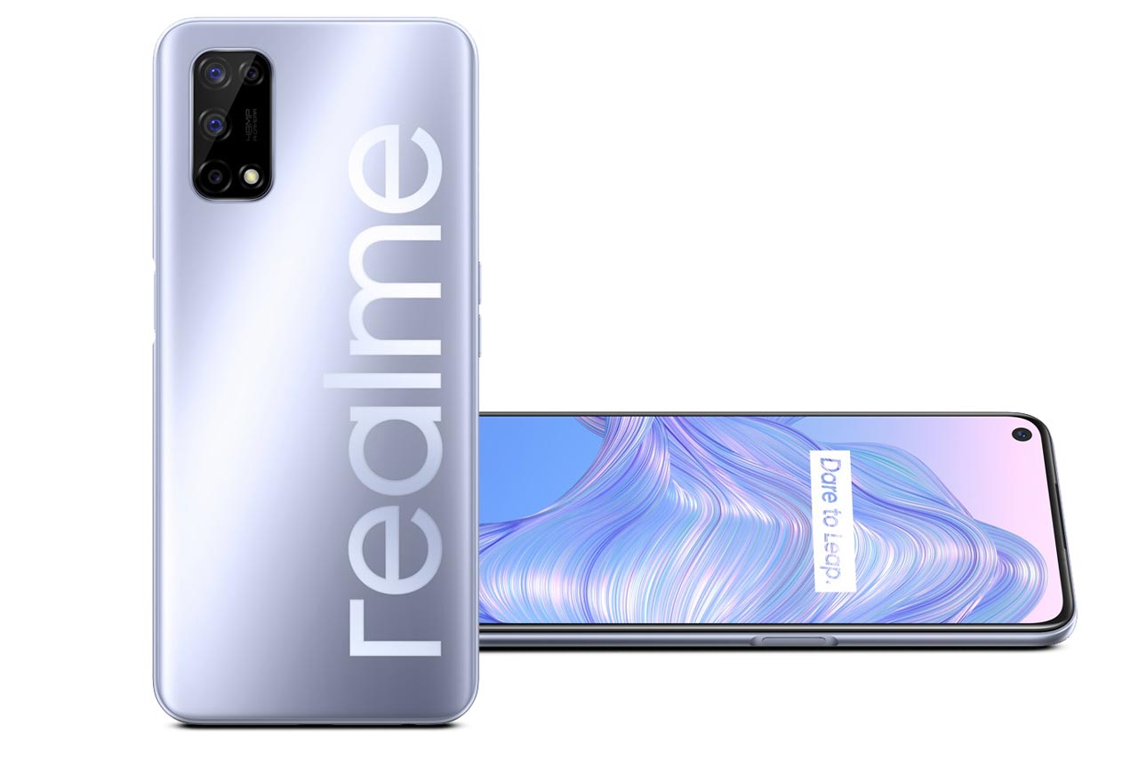Realme V5 5G Silver White