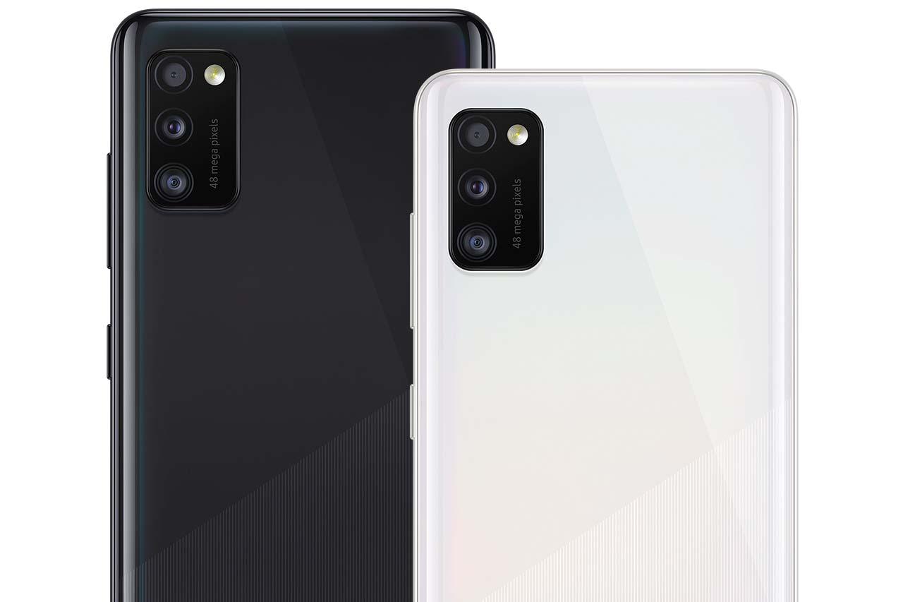 Samsung Galaxy A41 Black White