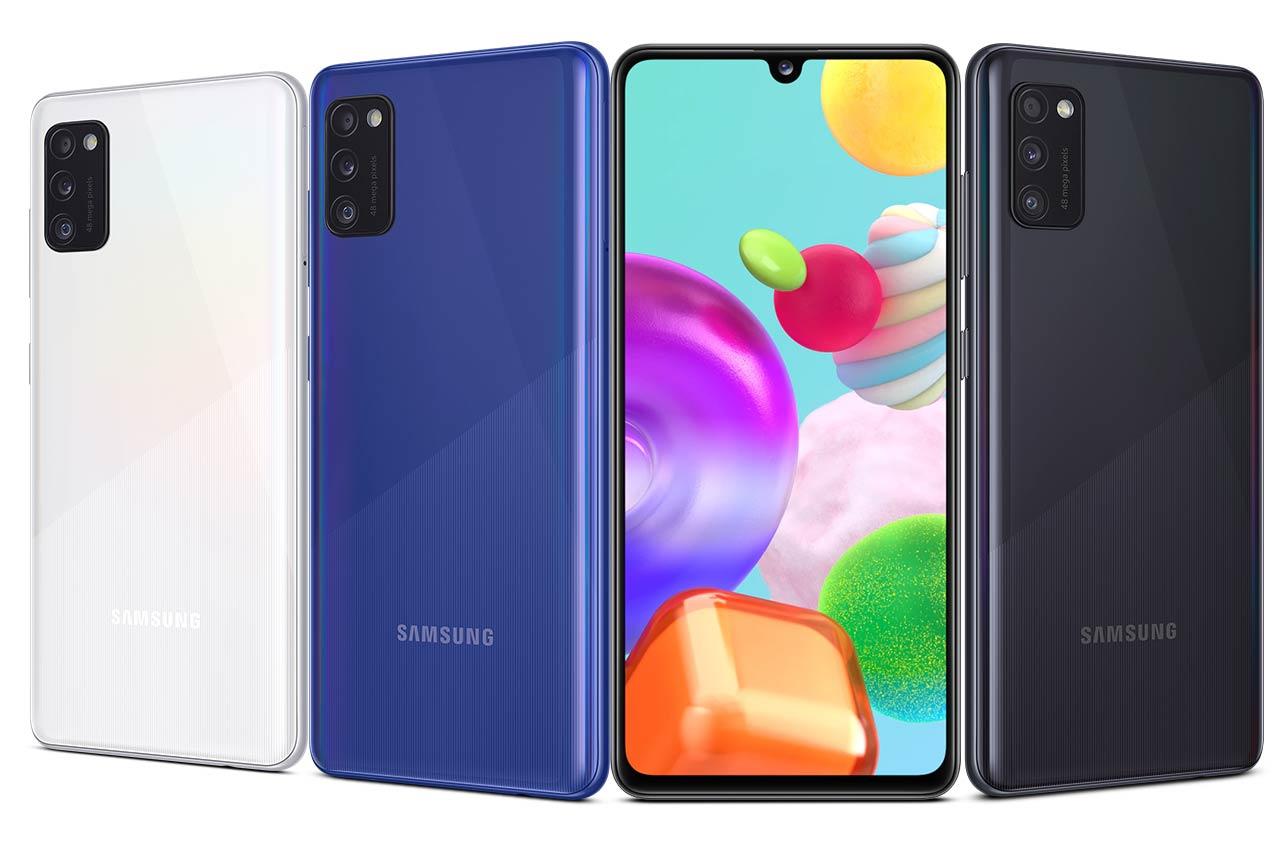 Samsung Galaxy A41 Colors