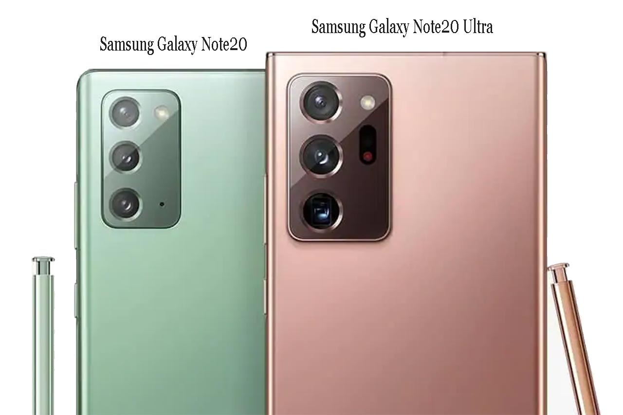 Samsung Galaxy Note 20 and Note20 Ultra