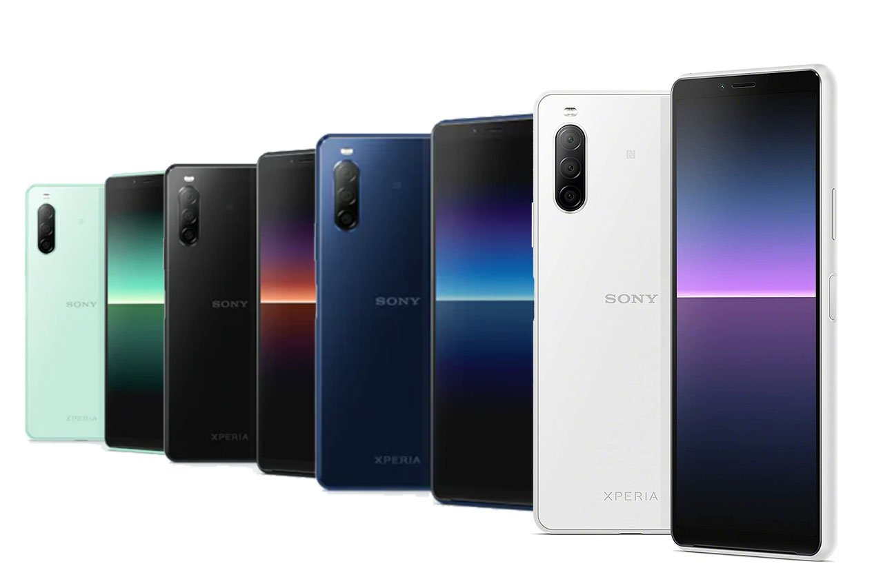 Sony Xperia 10 II Colors