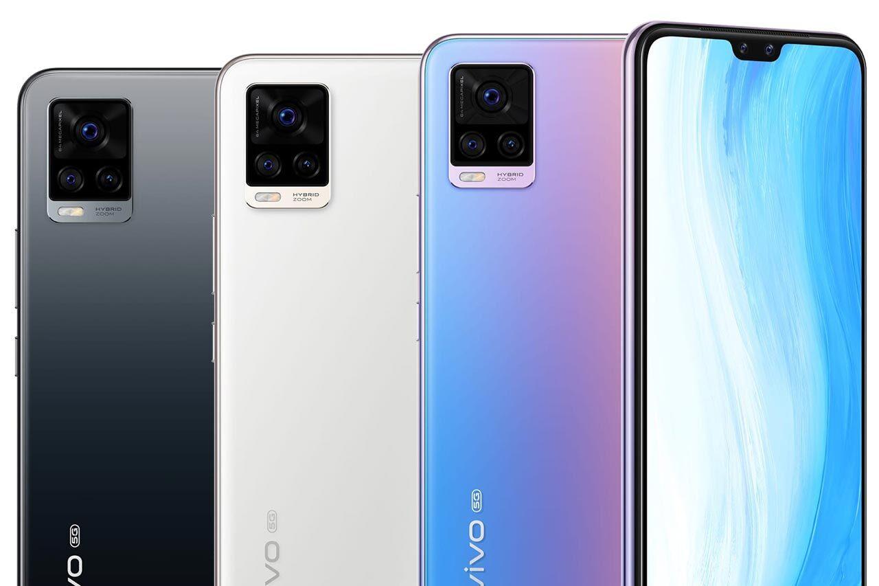 Vivo S7 5G Colors