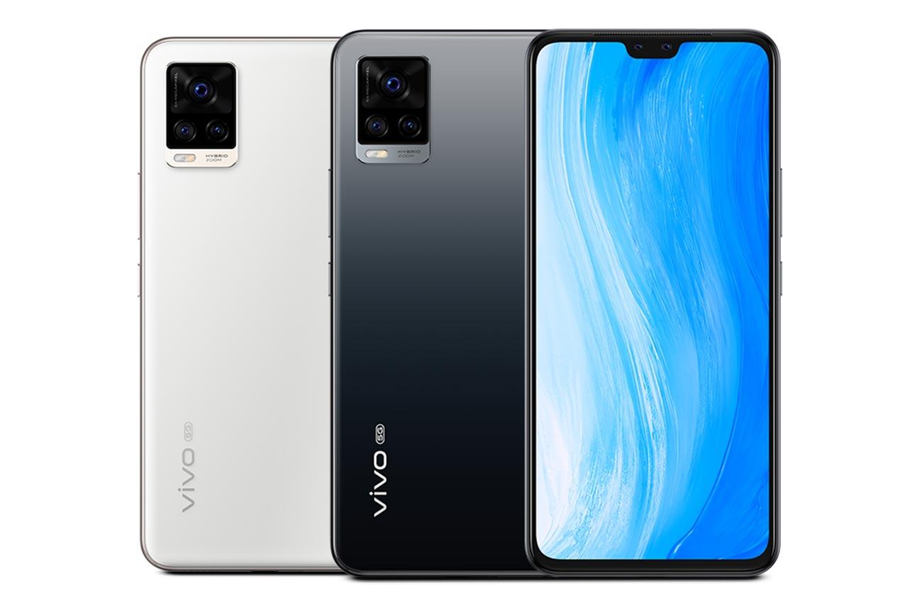 Vivo S7 5G White and Black