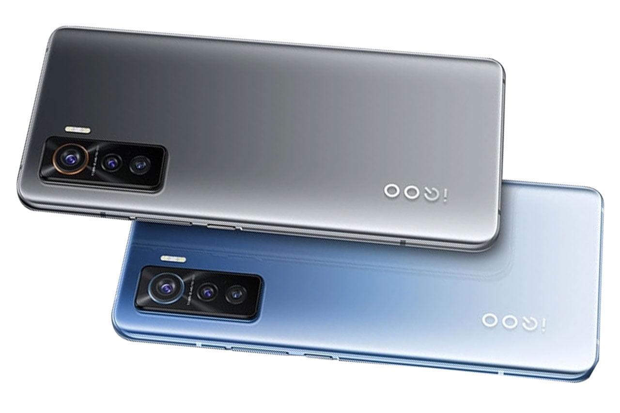 Vivo iQOO 5 5G Gray and Blue