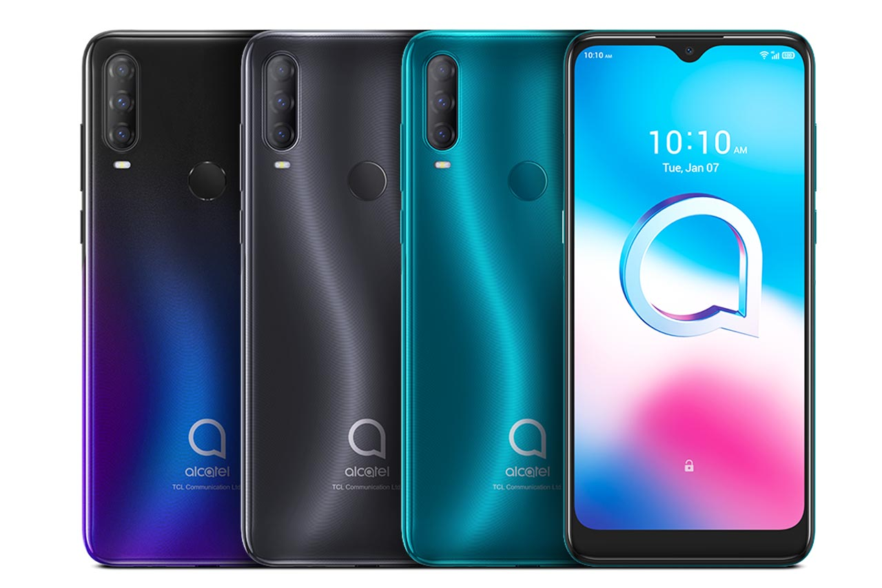 Alcatel 3L 2020 All Colors