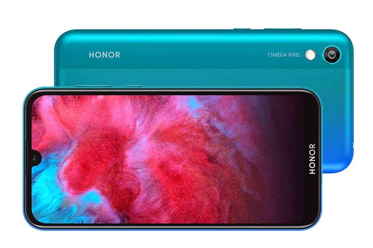 Honor 8S Aurora Blue Green