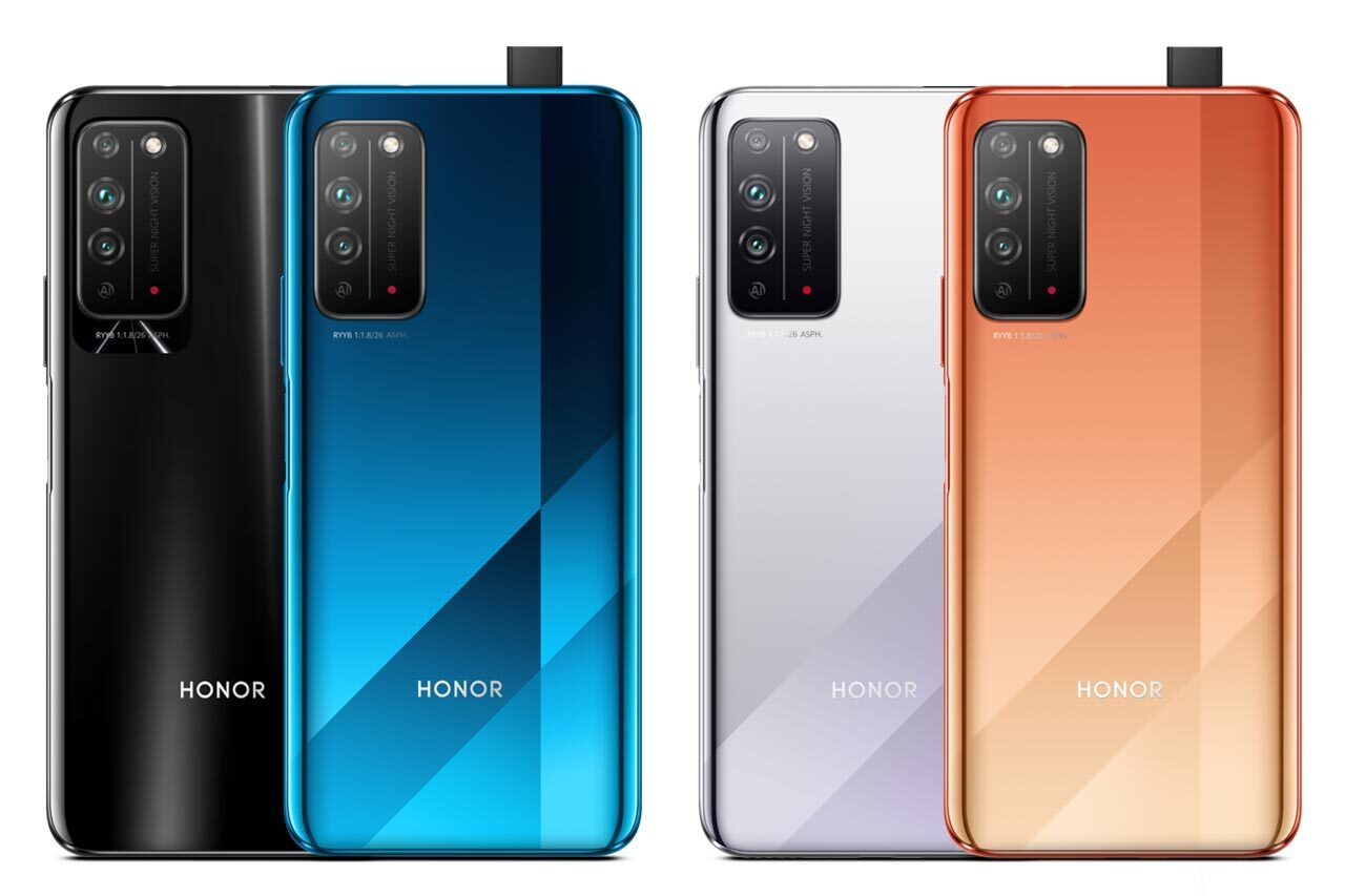 Honor X10 5G All Colors