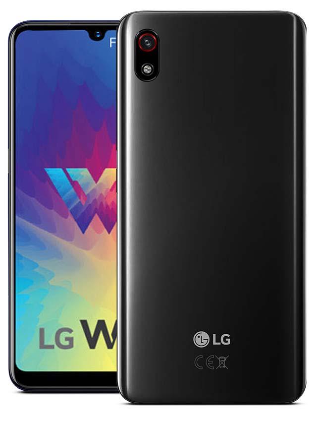 LG W10 Alpha Black
