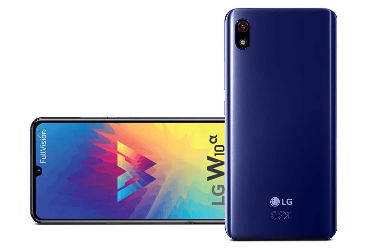 LG W10 Alpha Blue