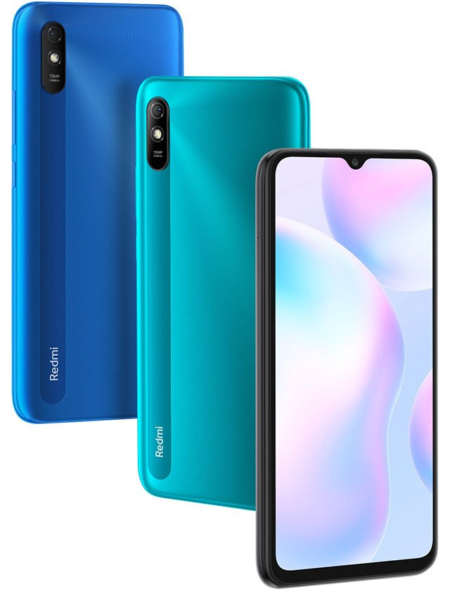 Mi Redmi 9i Green Blue Colors