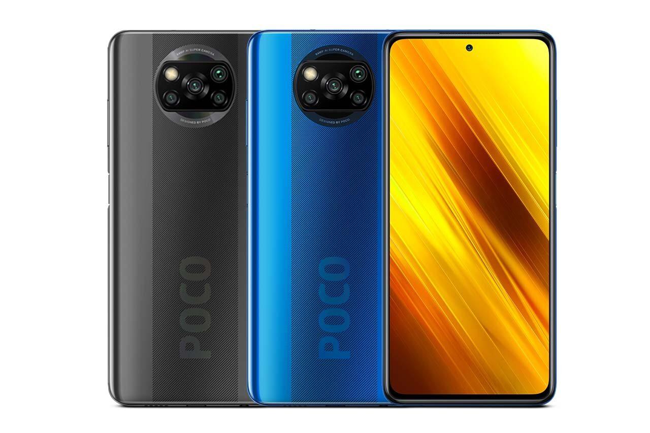 Mi Poco X3 NFC Blue Colors