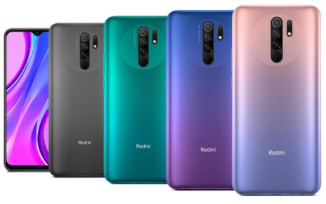 Mi Redmi 9 Prime Colors