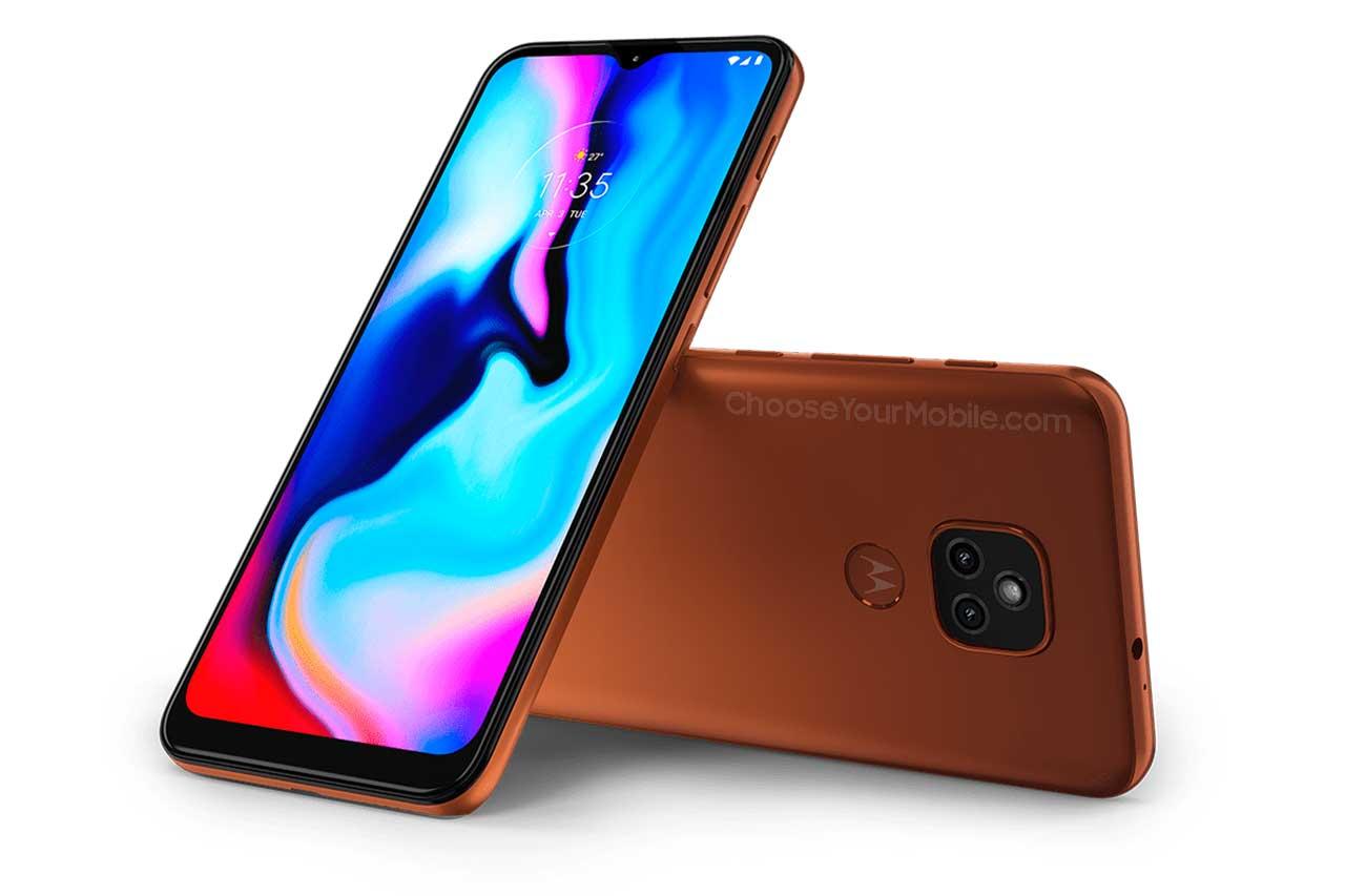 Motorola Moto E7 Plus Orange