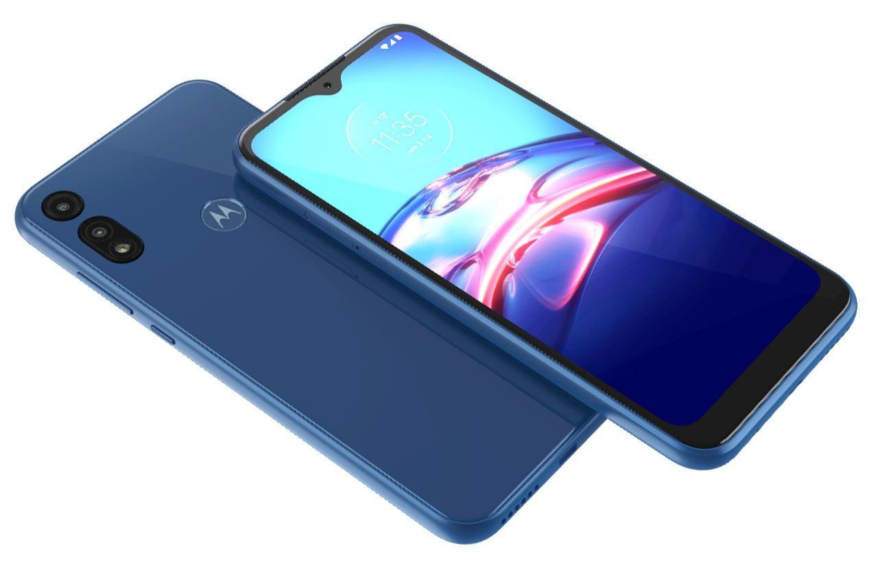Motorola moto e 2020 blue