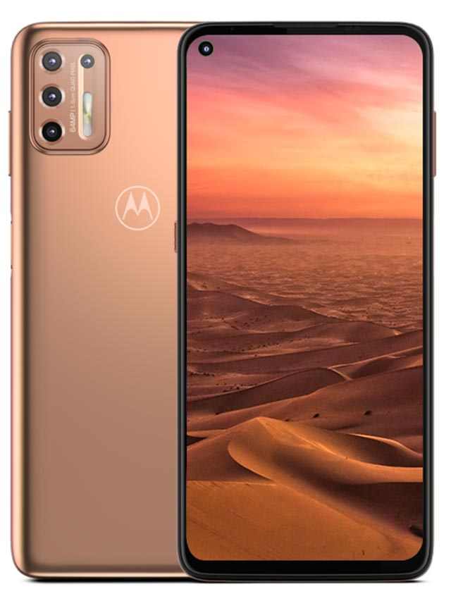 Motorola Moto G9 Plus Gold Color