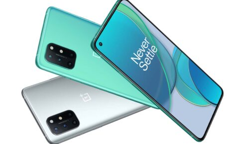 OnePlus 8T Green Silver Color