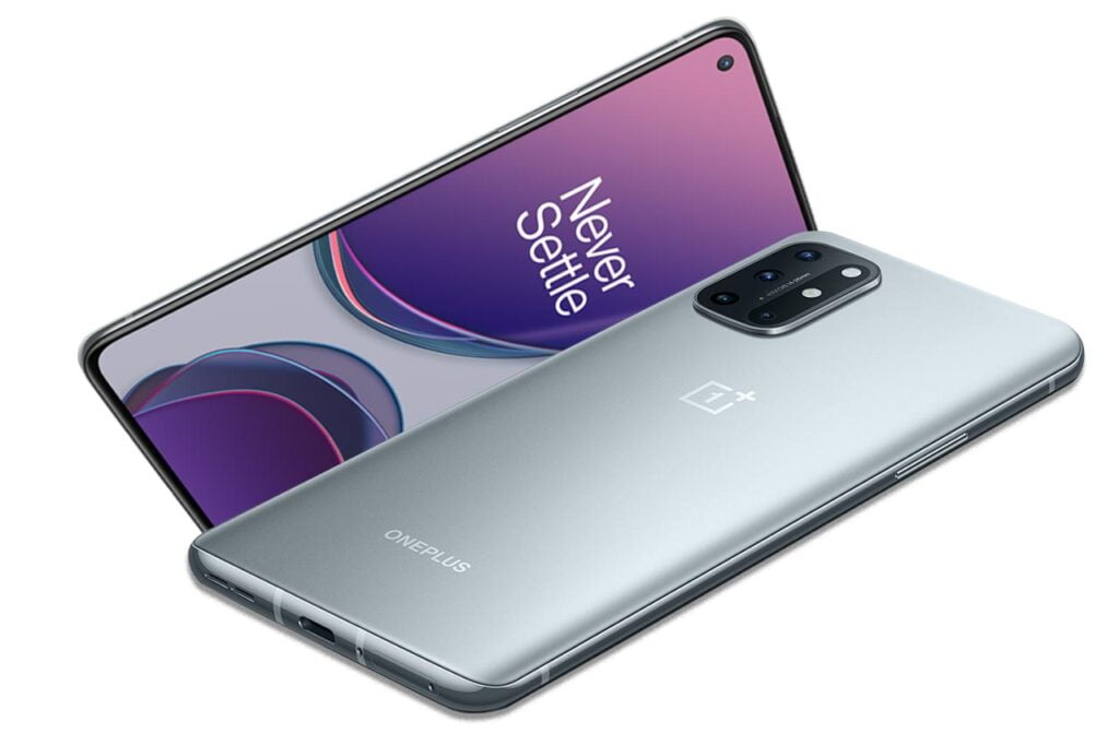 OnePlus 8T Silver Gray Color
