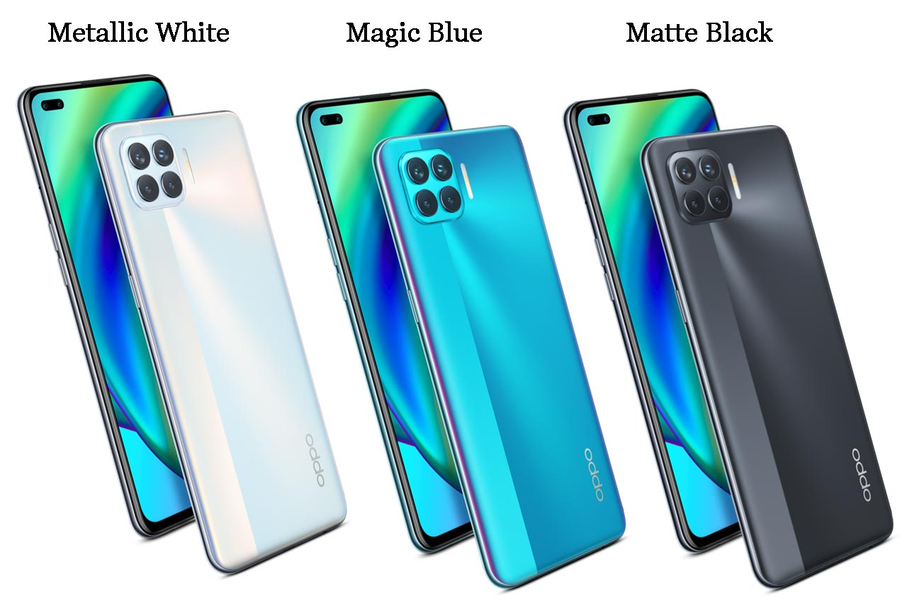 Oppo F17 Pro colors