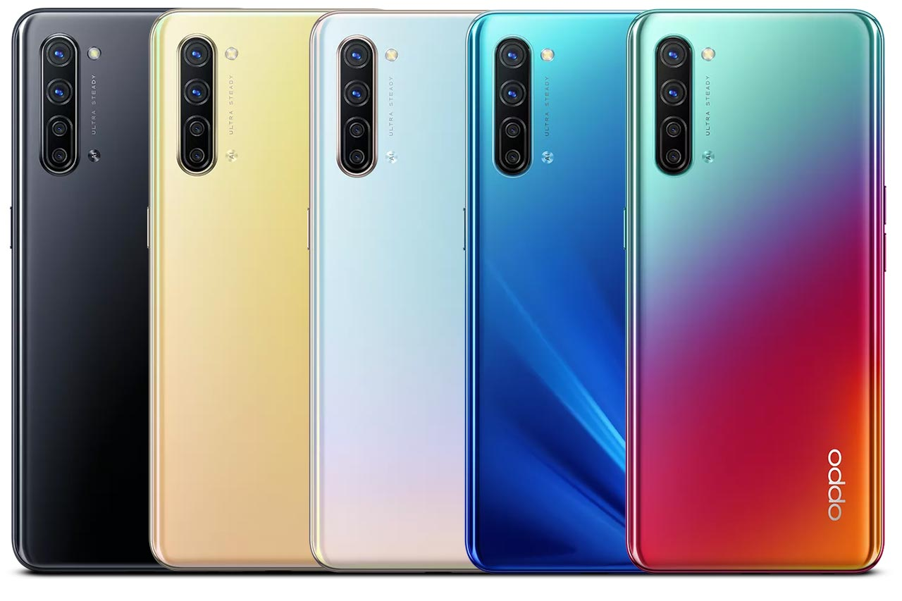 Oppo K7 All Colors