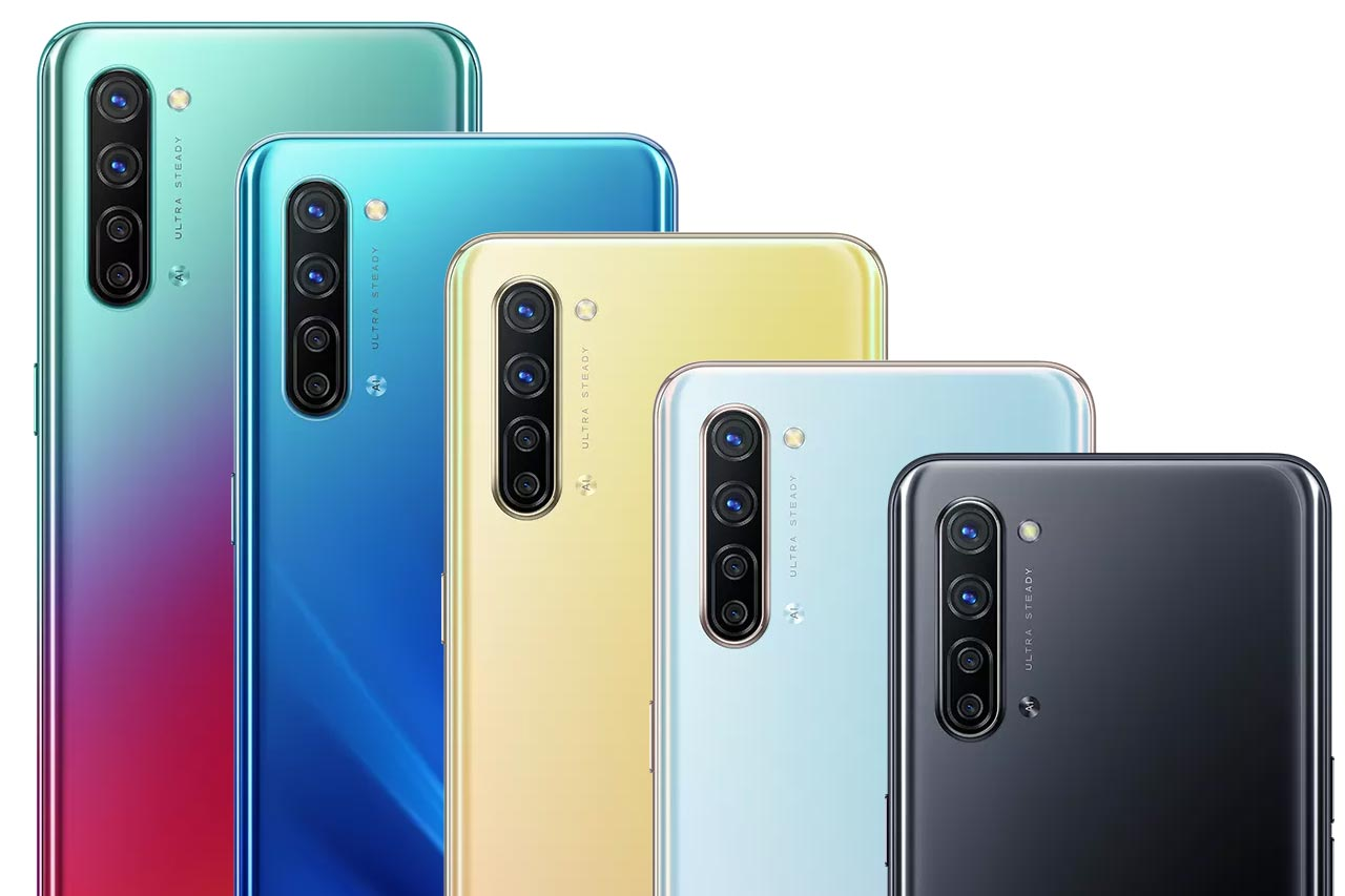 Oppo K7 Colors Image