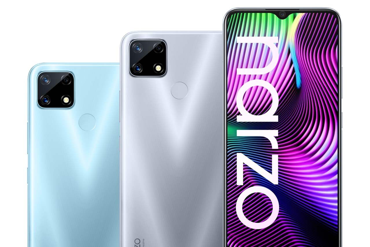 Realme Narzo 20 Colors